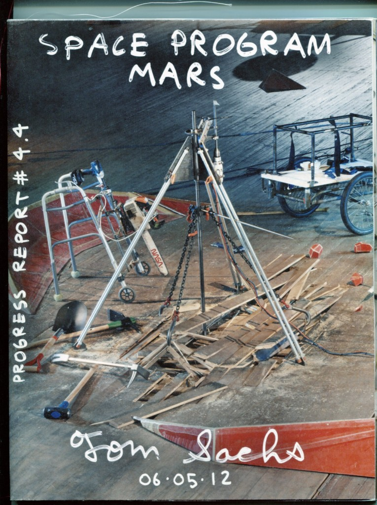 Tom Sachs Space Program Mars